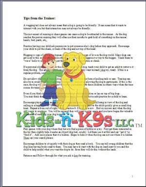 Tips from the Trainer