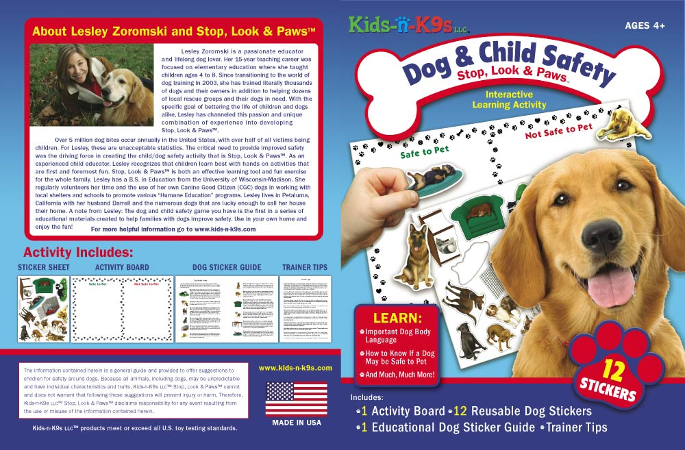 Cover of Kids n K9s dog bite training game