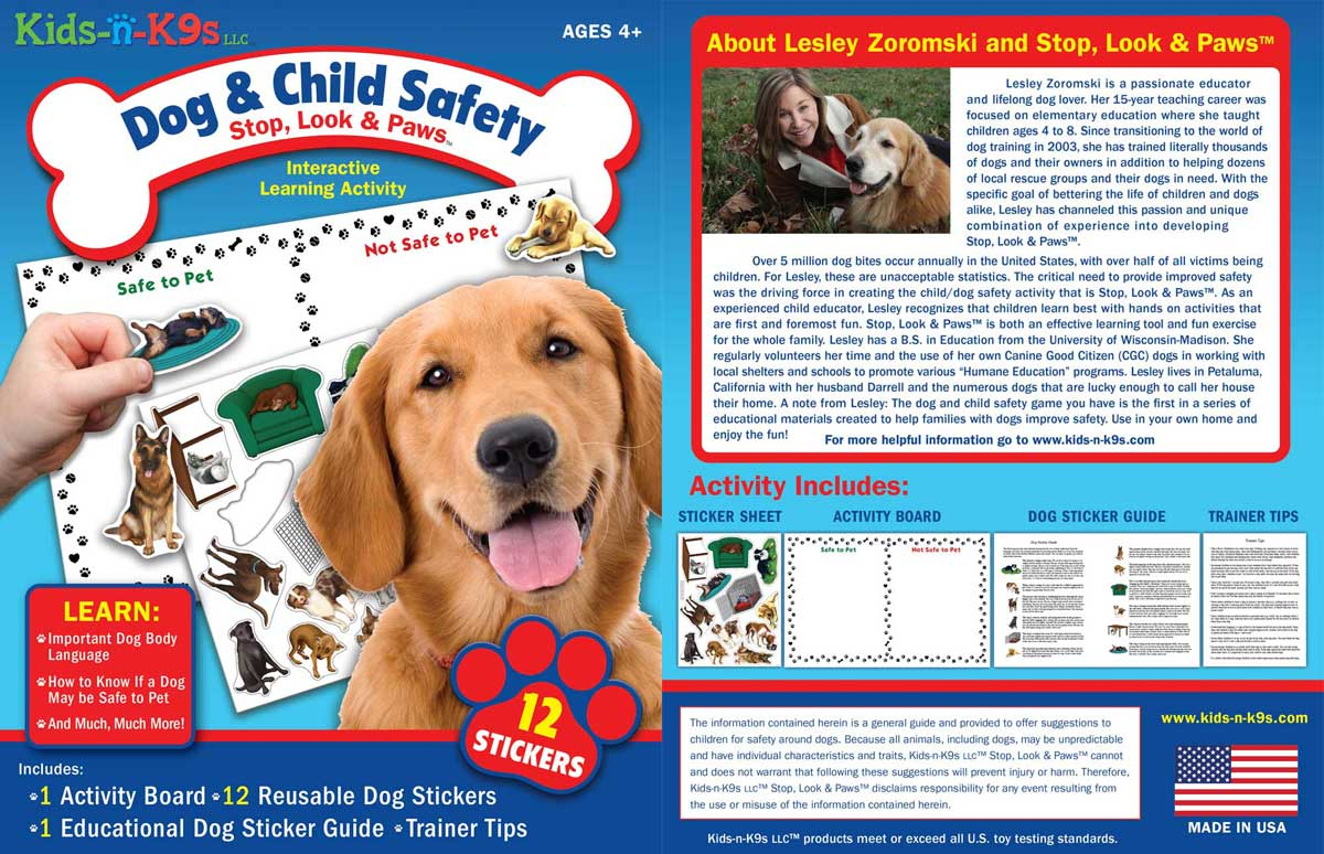 stop, look and paws game cover