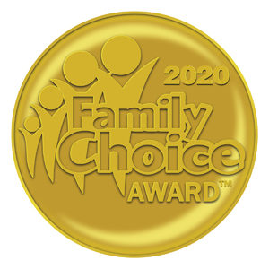 Family Choice Award, Stop,Look&Paws