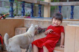 fear of dogs in children